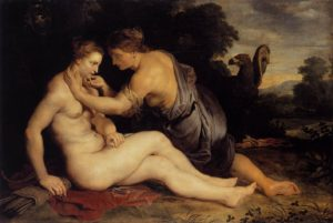 Jupiter and Callisto by: Peter Paul Rubens