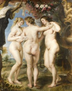 The Three Graces by: Peter Paul Rubens (1577-1640)