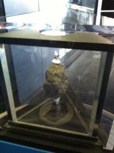 An Actual, No-foolin' Moon Rock. I Successfully Walked Away.